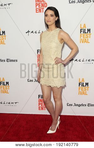 LOS ANGELES - JUN 19:  Grace Fulton at the 2017 Los Angeles Film Festival -