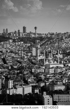 Ankara city skyline - Ankara, Turkey