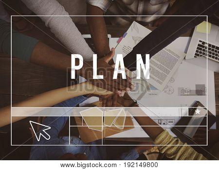 Plan Website Layout Template Graphic Word