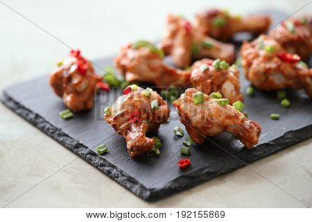 Food and cooking. Fried chicken legs