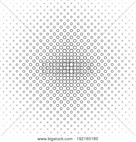 Abstract black and white octagon pattern design