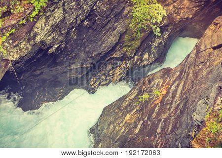 Gudbrandsjuvet Gorge In Norway