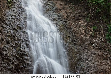 Montezuma waterfall in nature of  Costa Rica