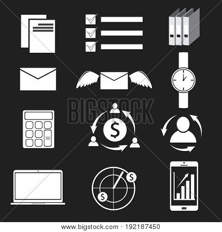 icon and sign for business concept. vector illustration.