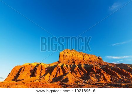 Sandstone formations in Utah, USA