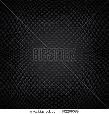 Dark abstract texture. Black background. Black pattern.