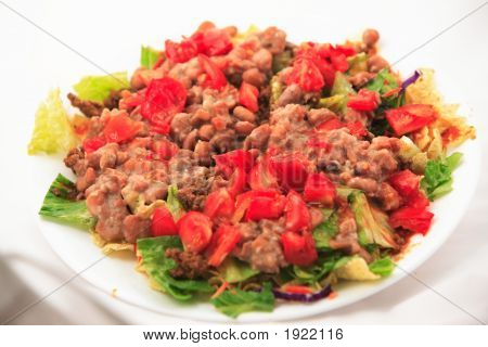 Taco Salad Without Cheese