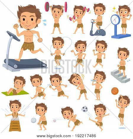 Primitive Man Loincloth Style Sports & Exercise