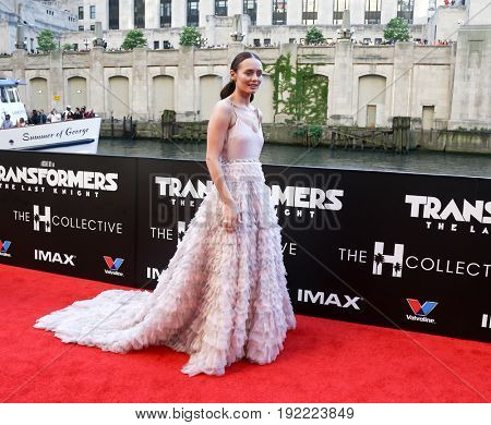 CHICAGO-JUN 20: Actress Laura Haddock attends the
