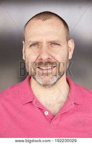 Portrait Of Casual Man