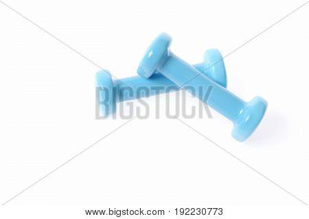 Cyan Blue Dumbbells