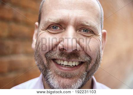 Smiling Man With Beard