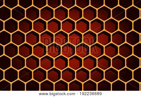 hexagon, horizontal, people, macro, hole, concepts, raw