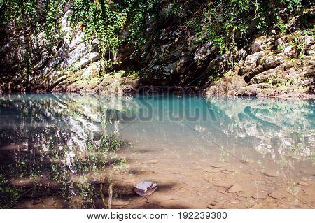 Small Mountain Lake