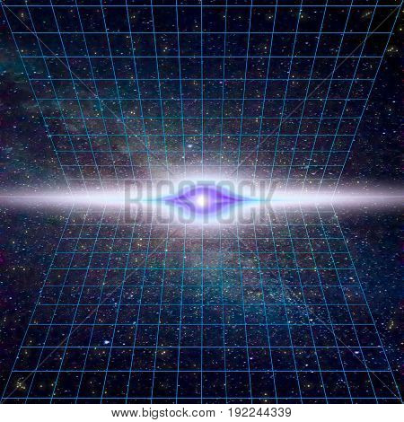 Singularity gravitational waves and spacetime concept. Time Warp - Time Dilation. Quantum mechanics meets general relativity.