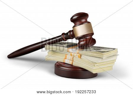 Table wooden wood gavel background money object