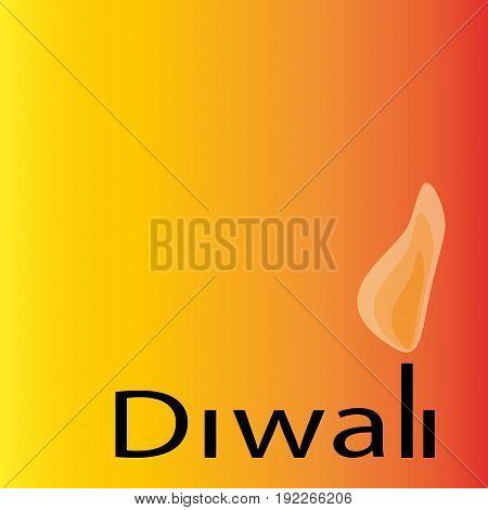 Diwali religious festival of lights in India