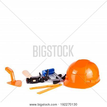 Toy Tools Isolated On White Background
