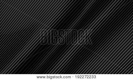 carbon fiber abstract industrial background 3d render