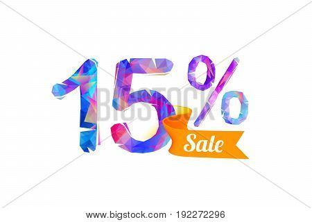 15 (fifteen) Percents Sale