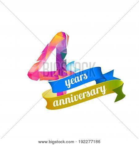 4 (four) Years Anniversary.