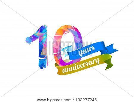 10 (ten) Years Anniversary.