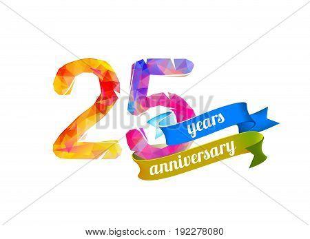 25 (twenty Five) Years Anniversary.
