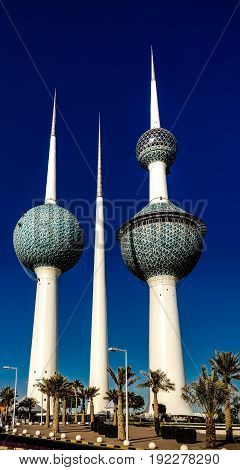 Kuwait Towers Water reservoir - 07-01-2015 Kuwait city