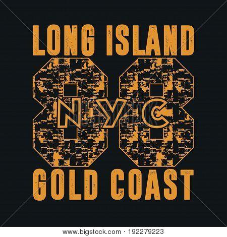 New York typography t-shirts graphic design print clothing design