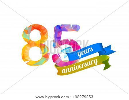 85 (eighty Five) Years Anniversary.