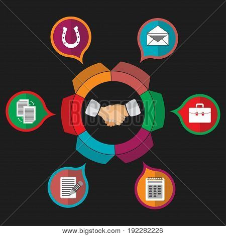 customer relationship management partnership fully editable image