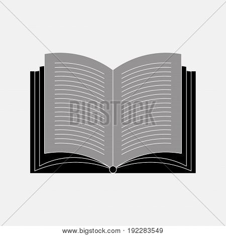 icon open book reading books learning fully editable image