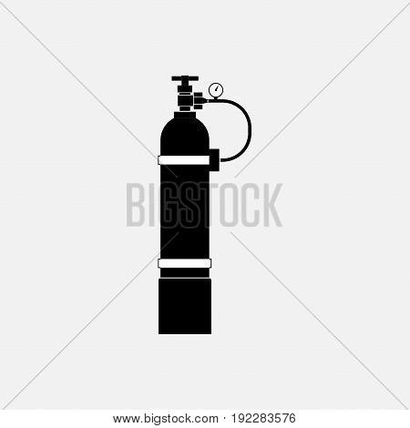icon oxygen cylinder original design fully editable image