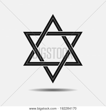 star of David icon fully editable image
