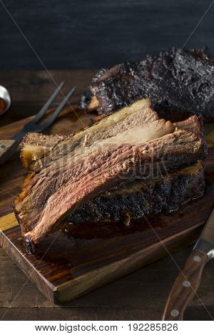 Delicious Smoked Beef Ribs