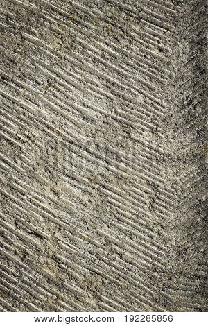 abstract background or texture obliquely grooved stone