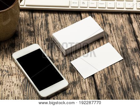 Blank phone screen smart table play background