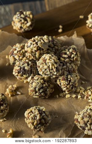 Raw Homemade Healthy Gluten Free Date Bites