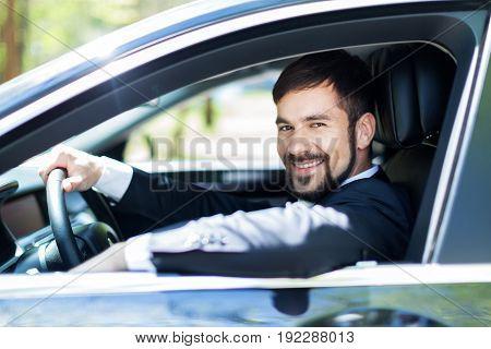 Man car buying car expensive luxury retail sale