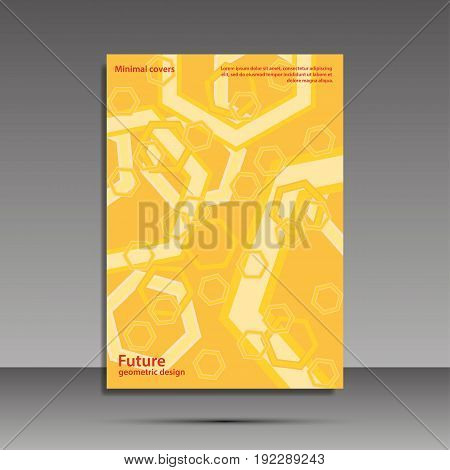 Minimal Covers Set. Future Geometric Design. Abstract 3D Meshes. Eps10 Vector.