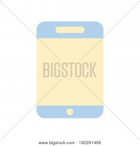 smartphone technology to talk with people vector illustration