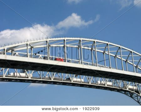 Blue Water Bridge Spans