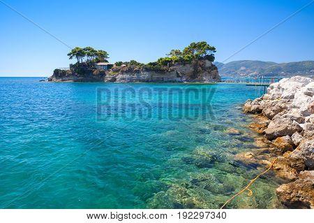 Cameo Island. Zakynthos Island, Greece
