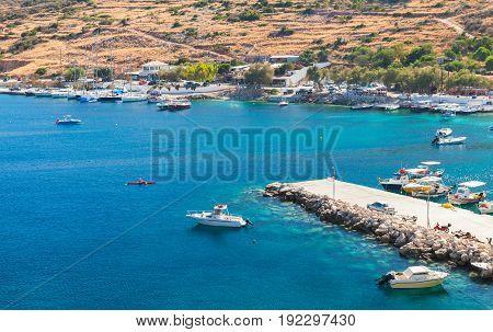 Agios Nikolaos Port. Zakynthos Island