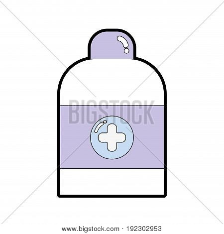 medical oinyment treatment cream to healthcare vector illustration