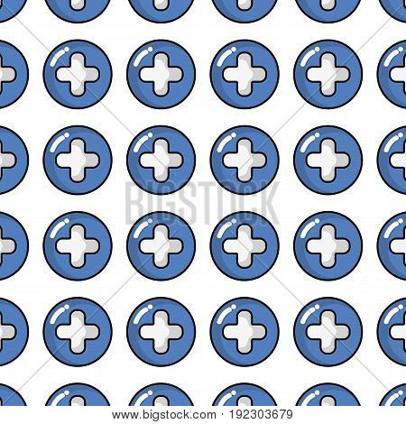 cross clinic symbol to healthcare people backgound vector illustration
