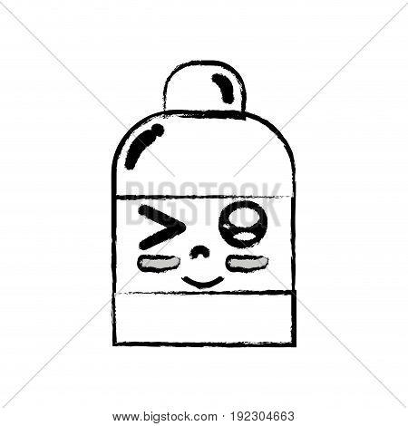 figure kawaii cute funny ointment pharmaceutical medicine vector illustration