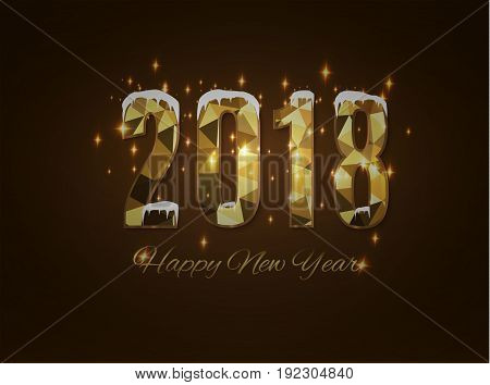 2018 happy new year.merry Christmas. i congratulate with 2018 year.