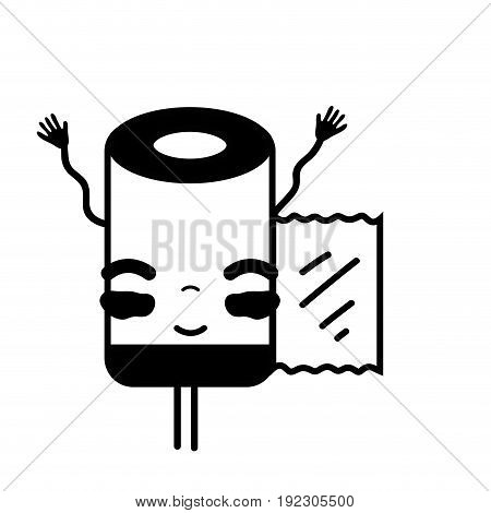 contour kawaii cute tender pill pharmaceutical medicine vector illustration