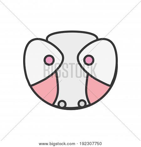 baby diaper thet use unterwear vector illustration